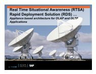 (RTSA) Rapid Deployment Solution - SAP National Security Services