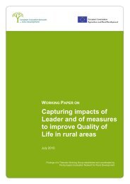 Capturing impacts of Leader and of measures to improve ... - MEN-D