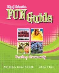 2009 Spring Fun Guide - Designs by LeaAnn M. Odekirk