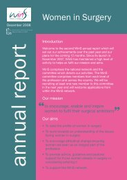 Annual Report 2 - 2008 - Surgical Careers - The Royal College of ...