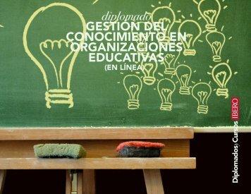 Gestión del Conocimiento en Organizaciones Educativas