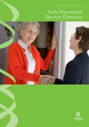 Falls Prevention Service Directory SAHS Region_c.indd - Aged ...
