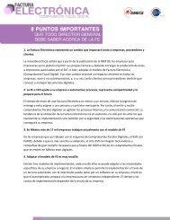 1. La Factura Electrónica representa un cambio que ... - GS1 México