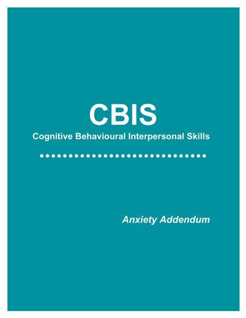 Anxiety Addendum - GPSC