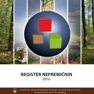 REGISTER NEPREMIČNIN - Geodetska uprava Republike Slovenije