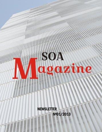 SOA Magazine 1 on 11.2013