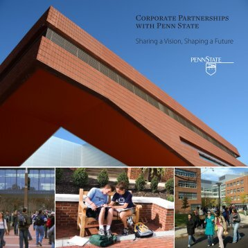 (PDF) version of the Corporate Partnerships with Penn State brochure
