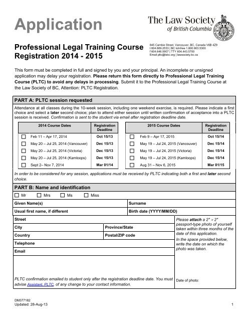 legal traning