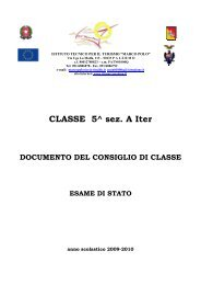 CLASSE 5^ sez. A Iter - Marco Polo