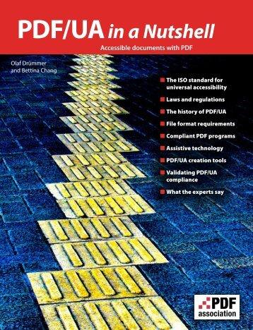 PDF/UA in a Nutshell – Accessible documents ... - PDF Association