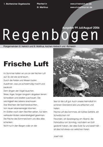 Frische Luft - GDG Aachen-Nordwest