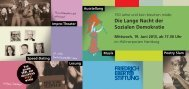 Die Lange Nacht der Sozialen Demokratie - Portal zur Geschichte ...