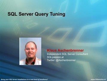Understanding SQL Server Execution Plans