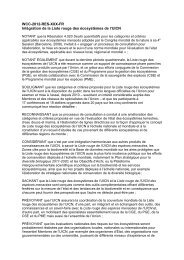 WCC-2012-Res-055-FR Integration de la Liste rouge ... - IUCN Portals