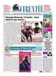George Roncea: 14 iunie - ziua când n-am murit... - Curentul