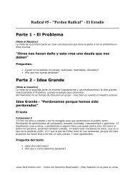 Radical 5 - Estudio - PazConDios