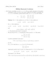 ee364a homework 4 solutions