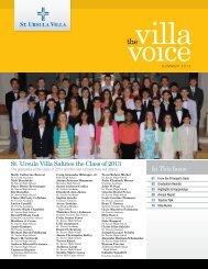 villa_voice_summer_2013 - St. Ursula Villa