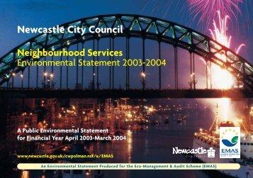 Neighbourhood Services Environmental Statement 2003/2004