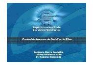 Control de Normas de Emisión de Riles - Siss