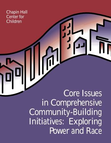 Core Issues in Comprehensive Community-Building Initiatives ...