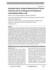 Antioxidant Potency of Aqueous Methanol Extract of Seed of ...