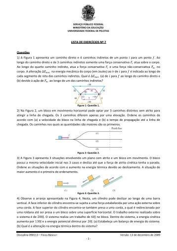 Lista de Exercícios Nº 7 - Chasqueweb.ufrgs.br