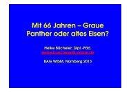 Vortrag BAG WfbM 2013 - Werkstätten:Messe