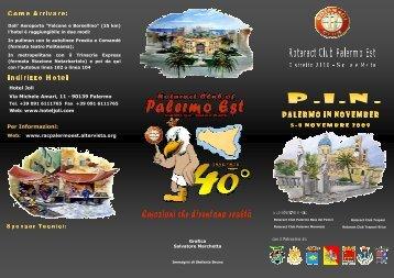 download the brochure in PDF - Rotaract Palermo Est - Altervista
