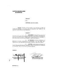 Intranet Municipal - Municipalidad de santiago
