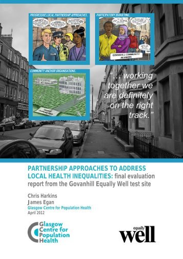 Partnership approaches to address local health inequalities