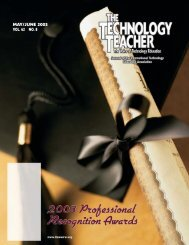 MAY/JUNE 2003 VOL. 62 NO. 8 - International Technology and ...
