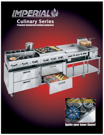 Culinary Series - Imperial Range