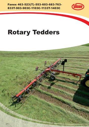 Rotary Tedders