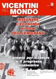 clicca qui per il n. 9 2010 - Ente Vicentini nel Mondo
