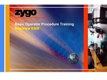 Basic NewView 6k Operator Training.pdf