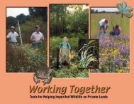 Working Together - Division of Fish and Wildlife