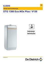 DTG 1300 Eco.NOx Plus / V130 - De Dietrich