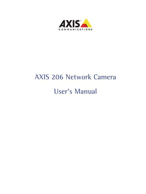 AXIS 206 DRIVERS FOR WINDOWS 10