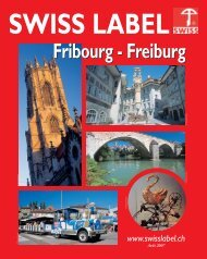 SWISS LABEL FRIBOURG-XP5 - Com Consulting SA