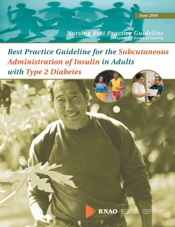 Best Practice Guideline for the Subcutaneous Administration of ...
