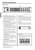 XM4180 Owner's Manual - Sonic Sense Sonic Sense - Page 6
