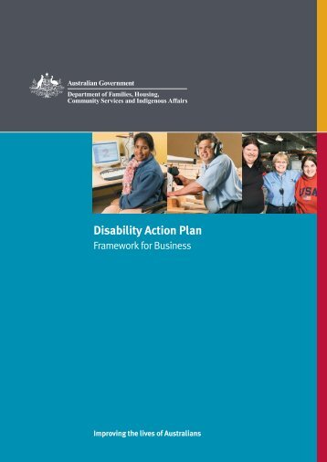 Disability Action Plan - Department of Families, Housing, Community ...