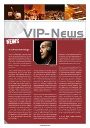VIP newsletter September07.indd - VIP-Booking