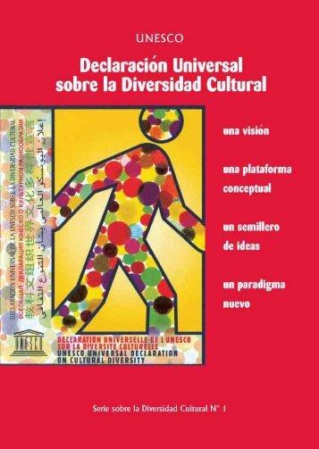 Declaración Universal sobre la Diversidad ... - unesdoc - Unesco