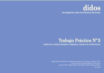 Registro Practicas Docentes TP3 - Diseño Industrial 2
