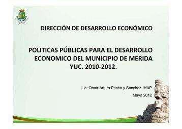 VII Foro CV - Omar Pacho (Ayuntamiento Mérida) - City & Values