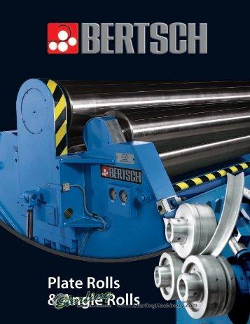 Bertsch Plate & Angle Rolls - MegaFab