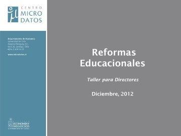 Módulo I: Reforma Educacional en Chile - Centro Microdatos