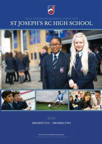 Prospectus - St Joseph's RC High School